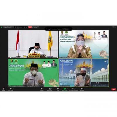 Gubernur Arinal Ajak Masyarakat Lampung Lantunkan Doa Bersama Lintas Agama