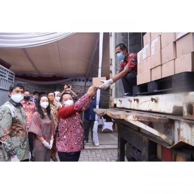 Gubernur Lampung Lepaskan Ekspor Perdana Produk Cokelat Tujuan Singapura